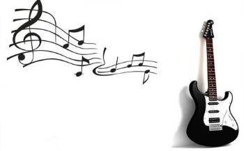 октавы на грифе гитары